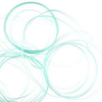 Органза, цвет светло-бирюзовый