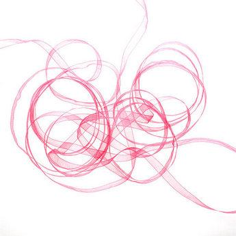 Органза, цвет фиолетовый