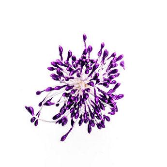 №54.1 Цветочные тычинки ярко-фиолетовые