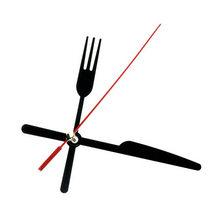 Cтрелки для часов L Вилка Нож, цвет - черный