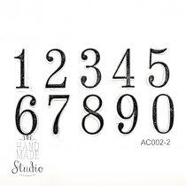 """Набор штампов """"Цифры"""" АС002-2"""