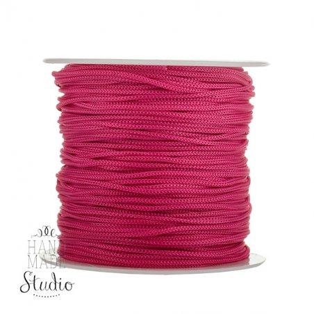 Нить бижутерная, цвет розовый