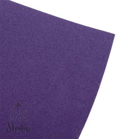 Фоамиран иранский 30х30 см, №33 цвет индиго