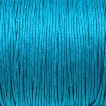 Вощеная нить, цвет бирюзовый, 1 мм