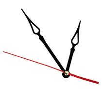 Cтрелки для часов L4.1, цвет - черный