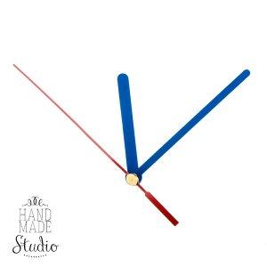 Cтрелки для часов S синяя