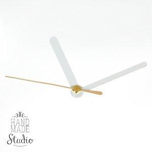 Cтрелки для часов S белая малая