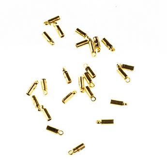 Концевик, цвет золото, 5 мм