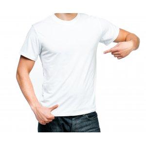 Футболка  белая, мужская, размер S