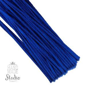 Шнур шелковый, цвет насыщенный синий, 1,5 мм