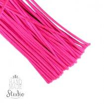 Шнур шелковый, цвет неоновый-розовый 1,5 мм