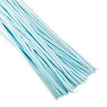 Шнур шелковый, цвет голубой, 1,5 мм