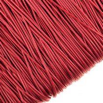 Шнур хлопок плетеный, цвет красный 2 мм