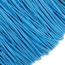 Шнур синтетический плетеный, цвет голубой 1 мм, 1м.