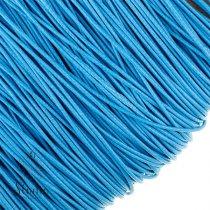 Шнур хлопок плетеный, цвет голубой 2 мм
