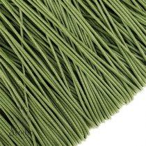 Шнур синтетический плетеный, цвет оливковый 2 мм, 1м.