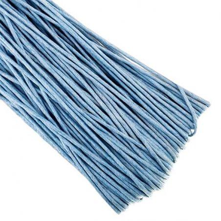 Вощеная нить, цвет небесно-голубой, 1 мм