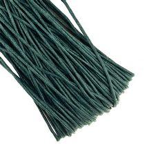 Вощеная нить, цвет изумрудный, 1 мм