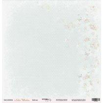 "Лист односторонней бумаги 30x30 ""Бабочки из коллекции Леди Шебби"""