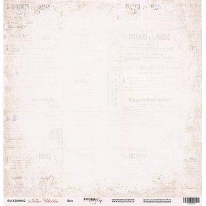"Лист односторонней бумаги 30x30 "" Фон из коллекции Леди Шебби"""