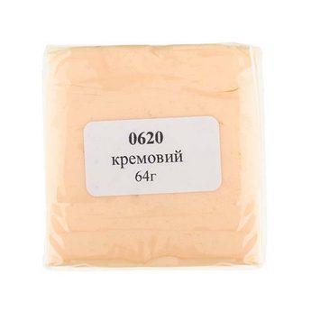 полимерная глина пластишка Lema пастель, ванильно-бежевая №0601, 64 г