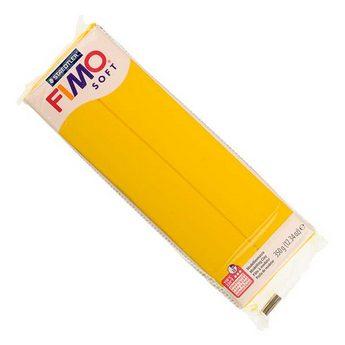 Полимерная глина Fimo Soft, 350г №16 - желтый