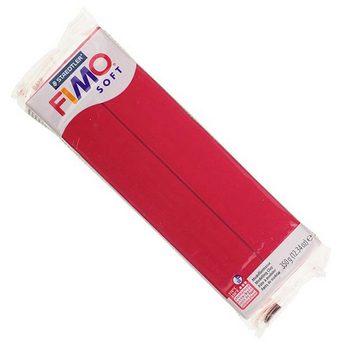 Полимерная глина Fimo Soft, 350г №26 - вишневый