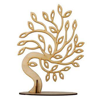 Деревянная заготовка Ива на подставке