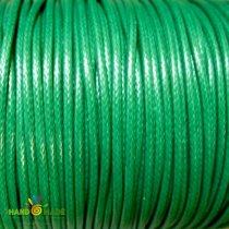 Шнур хлопок плетеный, цвет зеленый 1 мм
