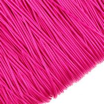 Шнур синтетический плетеный, цвет красный 1 мм, 1м.