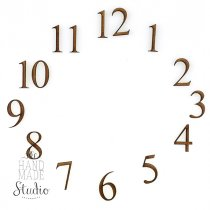 Набор цифр для часов 2 см
