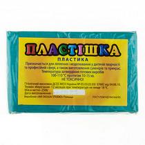 Полимерная глина пластишка/bebik бирюзовый, 250 г, 0116