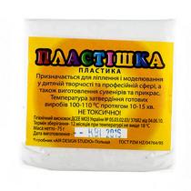 Полимерная глина белая флуоресцентная пластишка, 75 г, 0201
