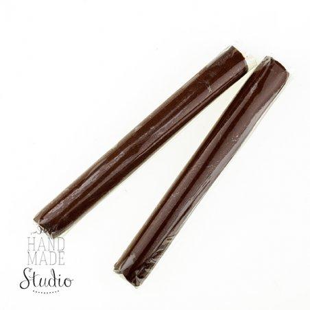 Полимерная глина пластишка/bebik темно-коричневая, 17г, 0122