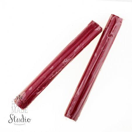 Полимерная глина пластишка/bebik красная бордо, 17г, 0110
