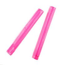 Полимерная глина пластишка розовая  флуоресцентная, 17 г, 0206