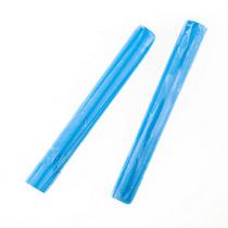 Полимерная глина пластишка голубая  флуоресцентная, 17 г, 0208