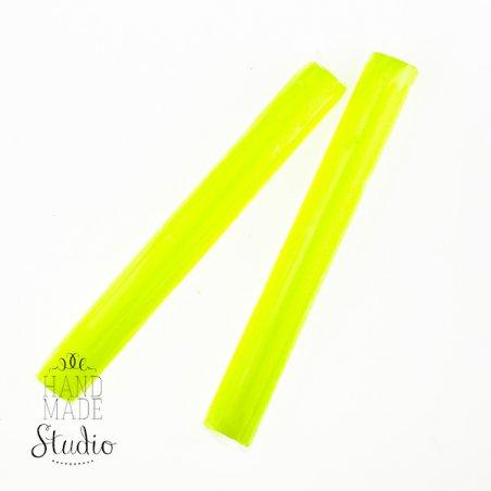 Полімерна глина Пластішка / bebik, №0202 лимонна флуоресцентна, 17 г