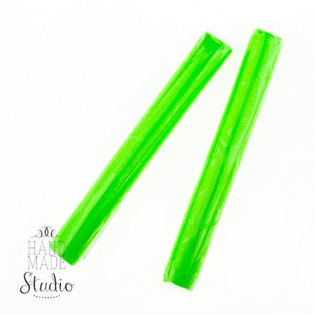 Полімерна глина Пластішка / bebik, №0209 світло-зелена флуоресцентна, 17 г