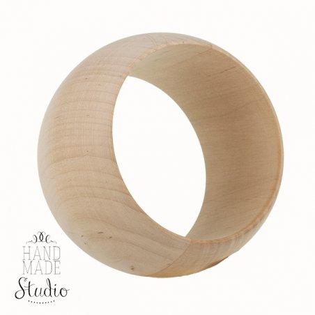 Браслет деревянный  ширина -5 см