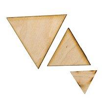 """Фигурная заготовка """"Треугольник"""" средний"""