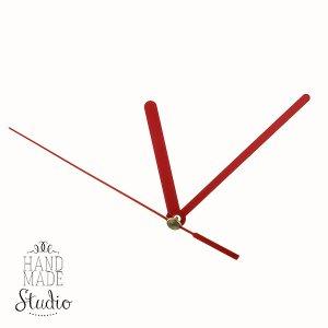 Cтрелки для часов S красная