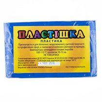 Полимерная глина пластишка/bebik синяя ультрамарин, 250 г, 0113