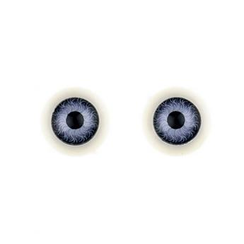 Глаза для кукол, цвет фиолетовый, Ø12 мм