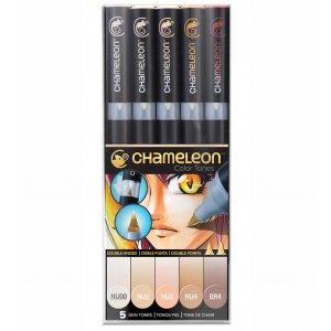 Набор 5 маркеров Chameleon 5-Pen Skin Tones Set СТ0510