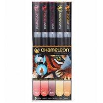 Набор 5 маркеров Chameleon 5-Pen Warm Tones Set СТ0511