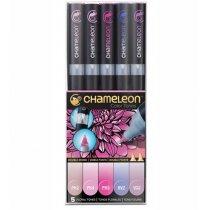 Набор 5 маркеров Chameleon 5-Pen Floral Tones Set СТ0512
