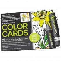 Склейка-раскраска Chameleon Color Cards - Flowers