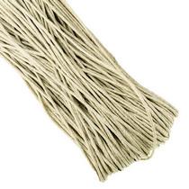 Вощеная нить, цвет серовато-бежевый, 1 мм
