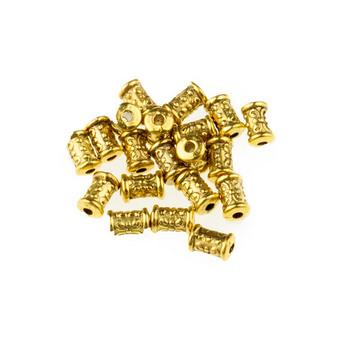 Разделительная бусина/спейсер, цвет античное золото